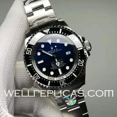 Switzerland Rolex Sea-Dweller Man Automatic Mechanical Blue Gradient Dail
