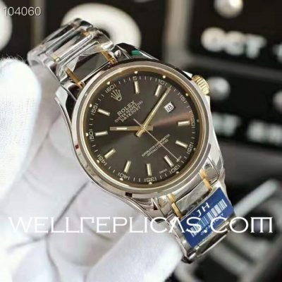 Rolex Datejust Tungsten Steel Boutique Series
