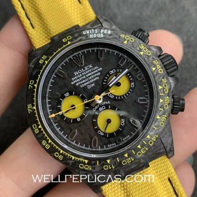 Rolex Daytona Series Modified Version Carbon Fiber Material