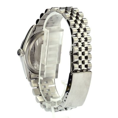 Rolex Swiss Replica Watches Rolex Datejustl 16000 Silver Dial