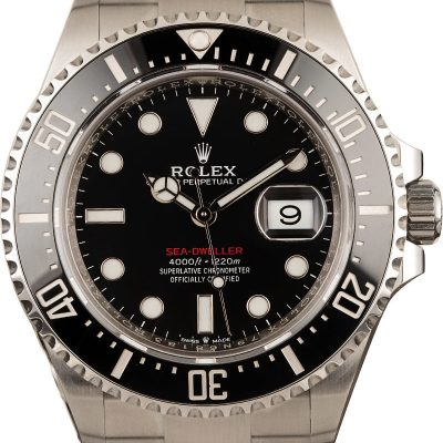Replica Watches Usa Rolex 126600 Red Lettering Sea-dweller
