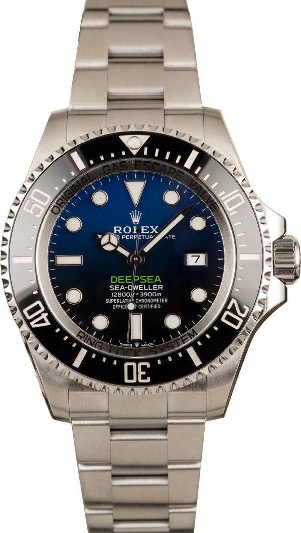 Best Replica Watch Site Rolex Deepsea 126660 D-blue Dial
