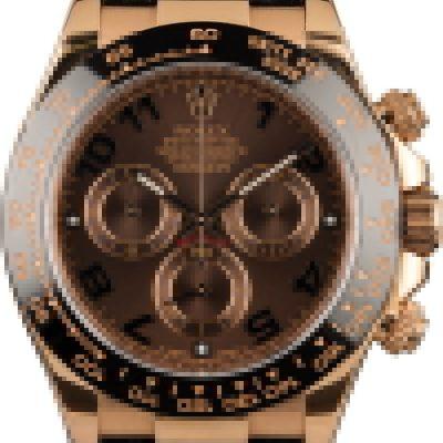 Knockoff Rolexrolex Daytona Rose Gold Chocolate Dial