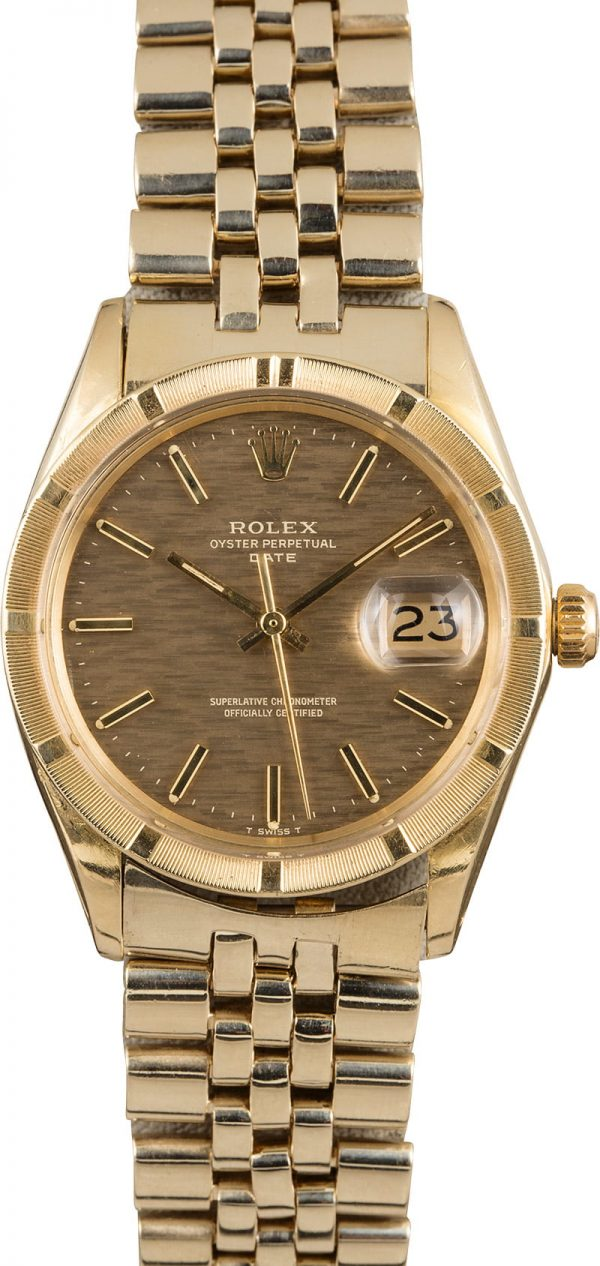 Exact Replica Watchesrolex Date 1501 American Oval Link