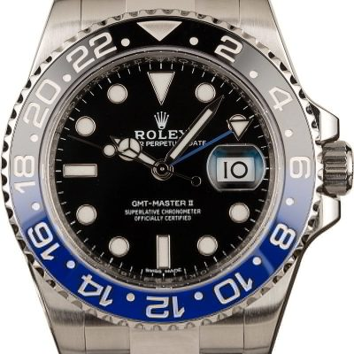 Fake Rolex Watch Rolex Batman Gmt-master Ii Ref 116710