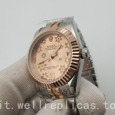 Rolex Datejust 178271 cassa da donna 31 mm Everose Rolesor