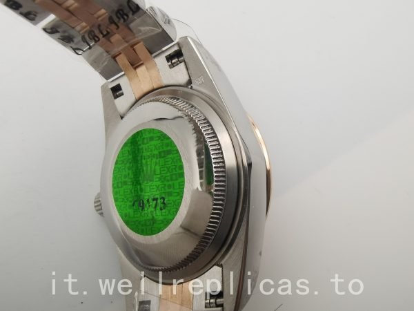 Rolex Datejust 178271 cassa da donna 31 mm Everose Rolesor