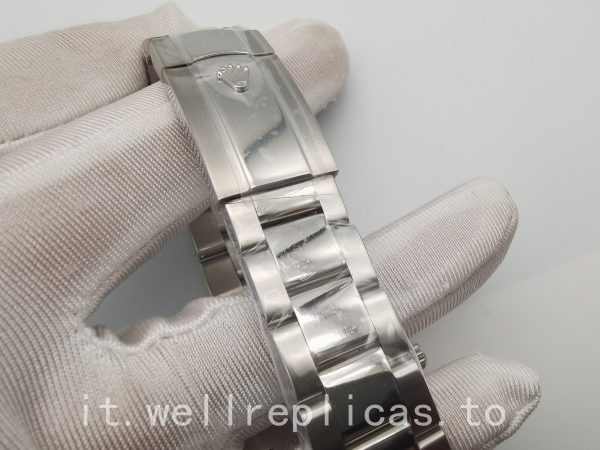 Rolex Datejust 116334 Quadrante da uomo in oro bianco 18 carati nero