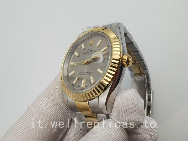 Rolex Datejust 126333 Cassa Da Uomo 41 Mm In Acciaio Inossidabile