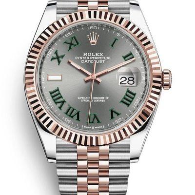 Rolex Datejust 126331-0016 Cassa Da Uomo 41 Mm Acciaio Inossidabile Oystersteel
