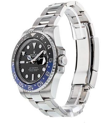 Rolex GMT-Master II 116710 Orologio da uomo in acciaio nero da 40 mm