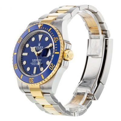 Rolex Submariner 126613 Orologio da uomo in acciaio con quadrante blu da 41 mm